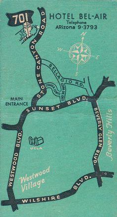 Hotel Bel-Air map