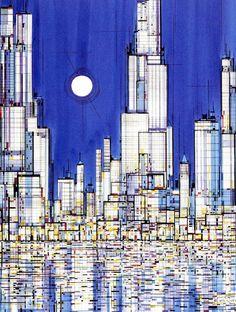 Viktor Schreckengost - Cityscape