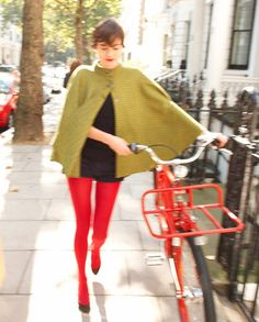 Match your tights to your bike.