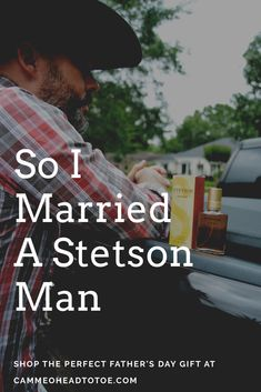 {#Ad} Shop the Perfect Father's Day Gift - @stetsonusa #ClassicStetsonDad  Stetson cologne Mens Fragrance Stetson Hat Cowboy Dad Style