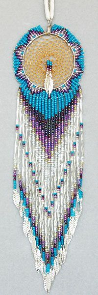 Native American Dream Catcher :: Exceptional Beading ♥ - I have made one of these before - took me 3 months!!!