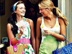 Blair & Serena Gossip Girl