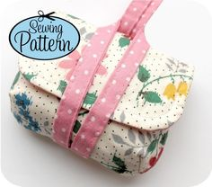 craft, pdf sew, cute sewing projects, camera case diy, case wristlet