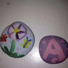 stone paint, flat stone, kid, find flat
