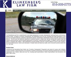 The Klinkenberg Law Firm is a Kansas City Based firm that works with businesses and individuals. The firm already had their logo in place, but required a website that enhanced their brand and would present a professional image to an online audience.