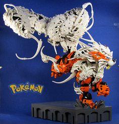 Incredible Lego Pokemon Arcaine