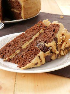 Chocolate Peanut Butter Layer Cake