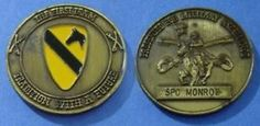 The First Team Tradition with A Future (Unstamped) Coin, Cavalry Challenge Coin Found one of these, and a few other old coins while cleaning out my room.