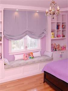 this would have to be in my daughters room in my dream home Little Girls, Bench, Bay Windows, Kid Rooms, Girl Bedrooms, Window Treatments, Little Girl Rooms, Girls Bedroom Window Seat, Window Seats Bedroom
