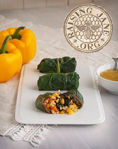 Sweet & Sour Rainbow Chard Rolls Prep Time: 1 Hour Cook Time: 35 Minutes Makes: About 12 Rolls