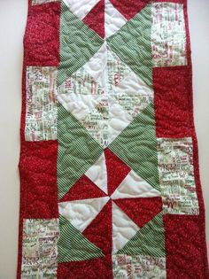 How about some festive table runners, too