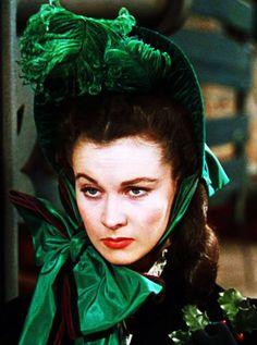 Vivien Leigh as Scarlett at Christmas