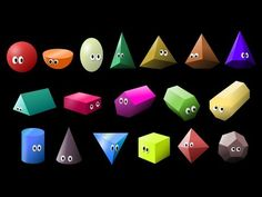 What Shape Is It? 2: 3D Shapes - Learn Geometric Shapes - The Kids' Picture Show (Fun & Educational)