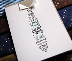 Wild Ink Press Fathers Day Tie Card 550x465 Seasonal Stationery: Fathers Day Cards, Part 3