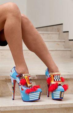 Shoes by Jamie Okuma.  Amazing work.