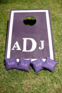 simple corn hole design!