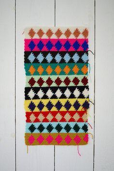 oblong pillow p♦r♦o♦j♦e♦c♦t by wood & wool stool, via Flickr