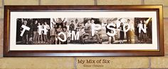 Family name photography project.  I think this is adorable!