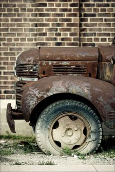 rusty old truck♥♥
