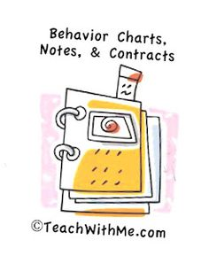 Behavior Charts, Notes and Contracts   # Pinterest++ for iPad #