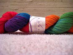 love this yarn.