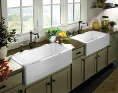 Giant Farmhouse Style Sinks.