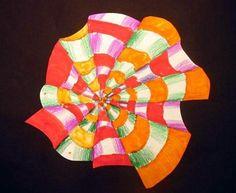 op art...zentangle, too!