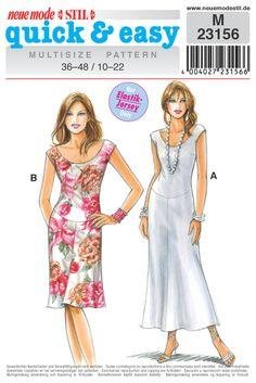 clothing patterns, dress pattern, neuemod sewingpattern, sew pattern, cloth pattern, neue mode, mode quick, sewingpatternscom, sewing patterns