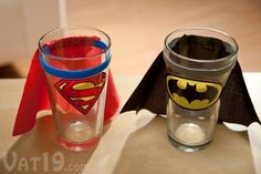 Cute idea for a little boy's cup!
