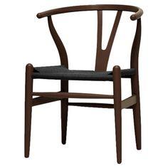 Wishbone Chair. Classic modern.