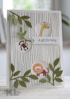 Zoo babies + + + Stampin up +1