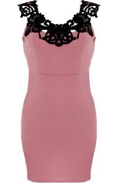 Paris Illusion Dress | Solemio Dresses | RicketyRack.com