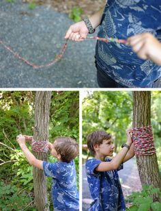 yarn bomb a tree - a study in art and culture