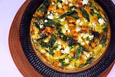 Spinach & Sweet Potato Frittata