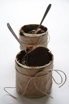 Dark Chocolate Soufflés