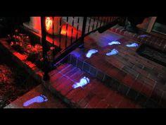 light video, house lighting, halloween 2011