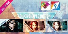 "Fashion Shapes MotionThe ""Fashion Shapes Motion"" template for after effects (CS 5.0 Full HD) comes with two included different project files. The preview file on videohive is the cold atmosphere one"