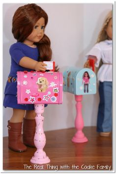 American Girl Mailboxes for your doll!