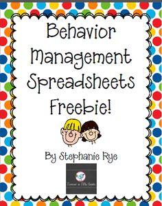 Forever in Fifth Grade: Back 2 School Linky-Behavior Management