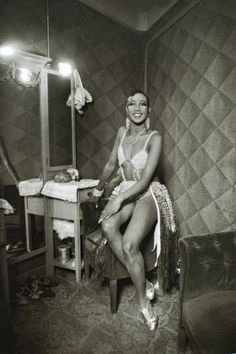 Josephine Baker in her dressing room by Luis Ramon Marin (1930)