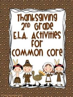 Thanksgiving 2nd Grade ELA