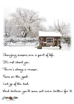 How to get through Changing Seasons / inspirational post about working through difficult times via FunkyJunkInteriors.net