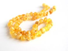 Baltic Amber Necklace. Milky color amber beads $26.99 USD