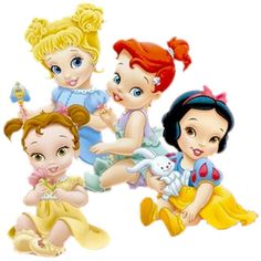 Baby Princesses - Disney And Cartoon Baby Images