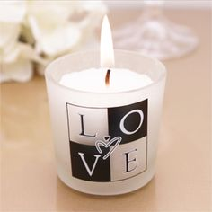 black and white wedding favors - Google Search