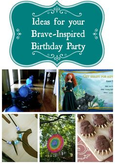 Aye! A Brave-Inspired Party, cool ideas for your Brave themed birthday party #Disney #Brave #PartyIdeas