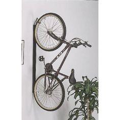 Indoor Vertical Bike Rack