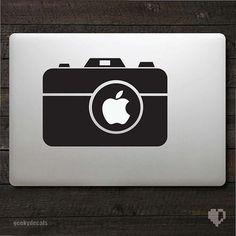 Vintage camera Macbook Decal / Macbook Sticker