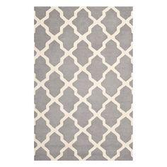 Drooling over this trellis motif wool rug on Joss & Main $61