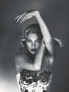 Kate Moss by Mert + Marcus
